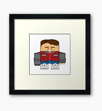 Back to the Future - Marty McFly (Future) Framed Print