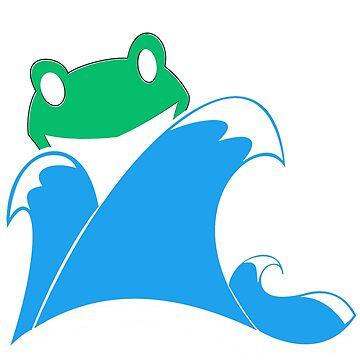 Frog Splash by dorknight
