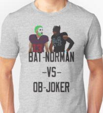 Bat-Norman vs OB-Joker T-Shirt