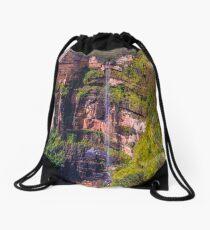 Bridal Veil Falls Katoomba NSW Australia Drawstring Bag