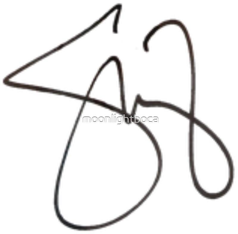 Quot Selena Gomez Signature Overlay Quot Stickers By Moonlightboca