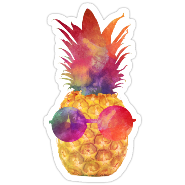 Quot Pineapple Quot Stickers By Sweetslay Redbubble
