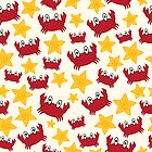 Crabs and Starfish by Pamela Maxwell