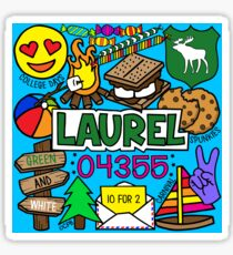 Lorbeer Sticker