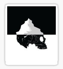 Skull Iceberg Sticker