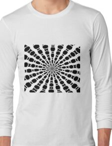 Black and White Bold Kaleidoscope T-Shirt
