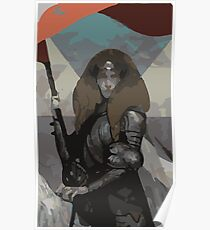 Female Human Tarot Card Poster