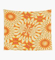 Simply Citrus - Lemon Slices and Orange Cocktail  Wall Tapestry