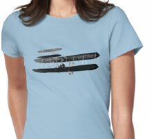 Go Fly A Plane Womens Fitted T-Shirt