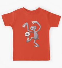 Cool Sloth Playing with a Soccer Ball Kids Clothes