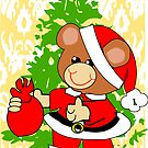Teddy in Santa's Clothes (7240 Views) by aldona
