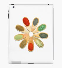 wooden spice spoons iPad Case/Skin