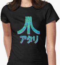 Vaporwave Atari Womens Fitted T-Shirt