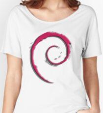Debian Logo Women's Relaxed Fit T-Shirt