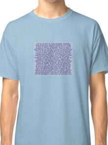 100 Ways To Say I love You For Him Classic T-Shirt