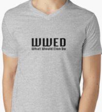 What Would Elon Do Men's V-Neck T-Shirt