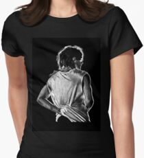 Louis/Black Women's Fitted T-Shirt