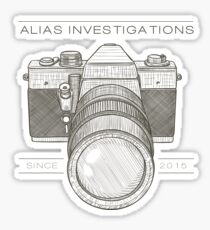 Alias Investigations Pt. 1 Sticker