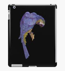 Blue Parrot T_Shirt iPad Case/Skin