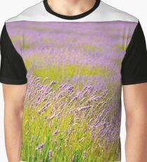 Lavender Field Graphic T-Shirt