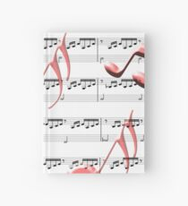 Cuaderno de tapa dura All About the Music