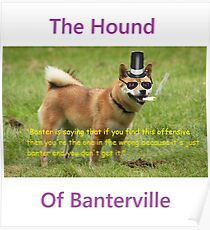 The Hound of Banterville Poster