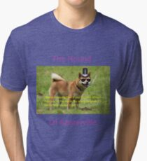 The Hound of Banterville Tri-blend T-Shirt