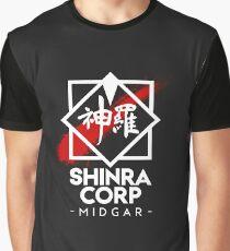 Shinra Corp - Midgar Graphic T-Shirt