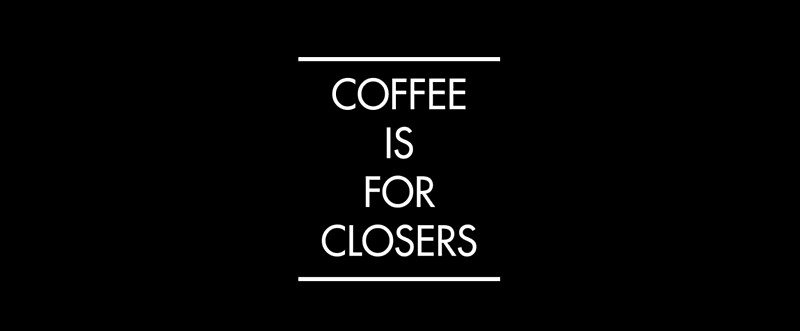 """""""Coffee is for Closers (BLACK)"""" Mugs by AlanPun 