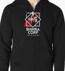 Shinra Corp - Midgar Zipped Hoodie