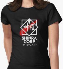 Shinra Corp - Midgar Women's Fitted T-Shirt