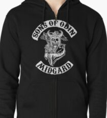 Sons Of Odin - Midgard Chapter Zipped Hoodie