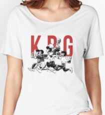 K.B.G Team - Hajime No Ippo Women's Relaxed Fit T-Shirt