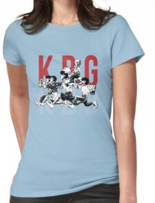 K.B.G Team - Hajime No Ippo Womens Fitted T-Shirt