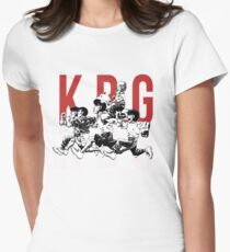 K.B.G Team - Hajime No Ippo Womens Fitted T-Shirt