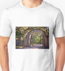 Wormsloe Plantation Gate T-Shirt