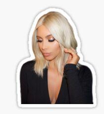 Blonde Kim Kardashian West  Sticker