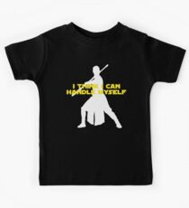 Rey - I Think I Can Handle Myself - Large Design Kids Tee