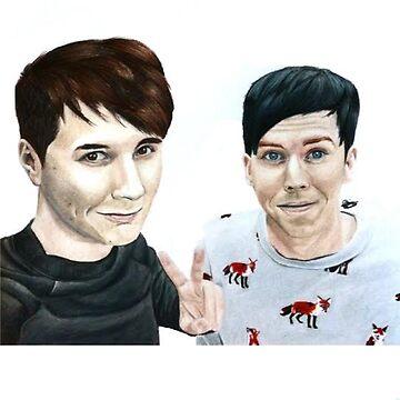 Dan and phil by art-ic-monkeys