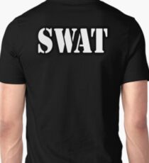 AMERICAN, SWAT, Special Weapons and Tactics Teams, Military  T-Shirt