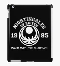 Nightingales of riften - black iPad Case/Skin