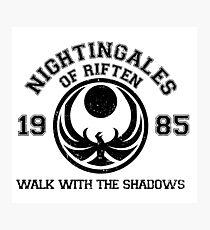 Nightingales of riften Photographic Print