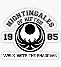 Nightingales of riften Sticker