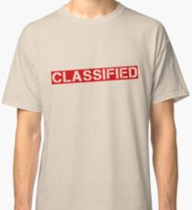 Camiseta clásica That information's [CLASSIFIED]