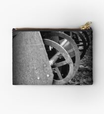 Farm Machinery | BNW | Black and White | Agricultural Studio Pouch