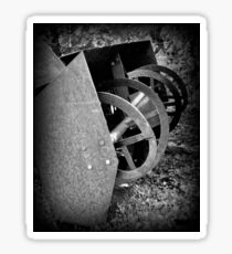 Farm Machinery   BNW   Black and White   Agricultural Sticker