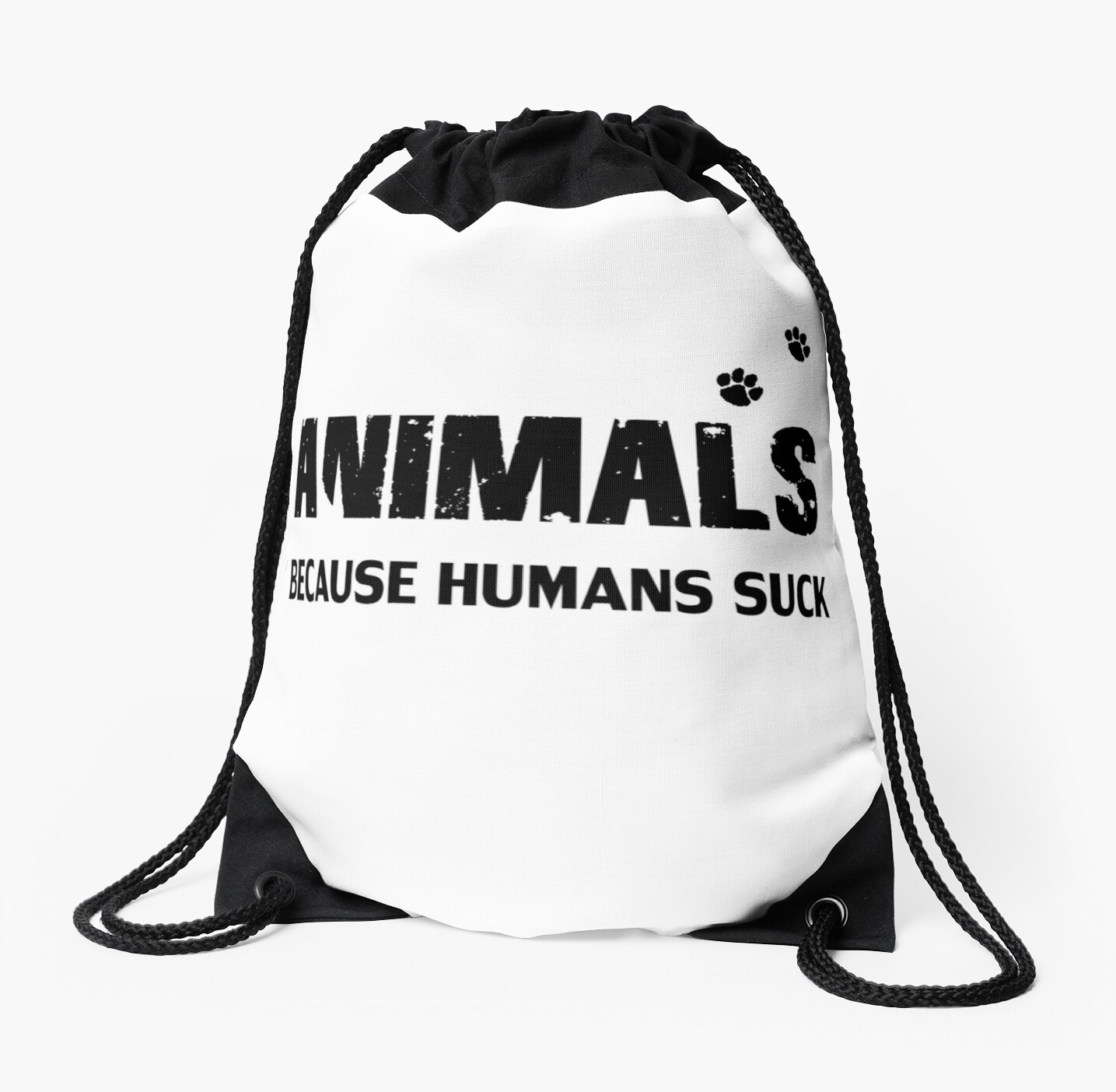 Animals - Because Humans Suck by OwlBeDesigning