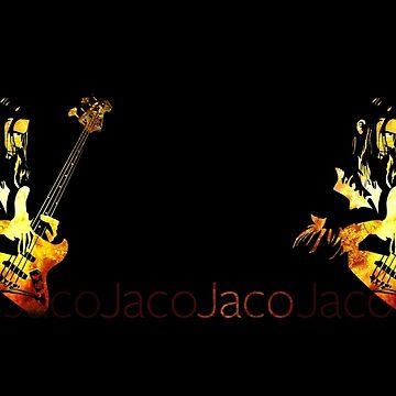 Jaco Pastorius Mug by mikedm