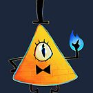Bill Cipher by Kirstendraws