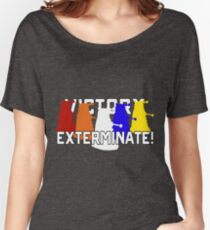 Victory of the Daleks Women's Relaxed Fit T-Shirt